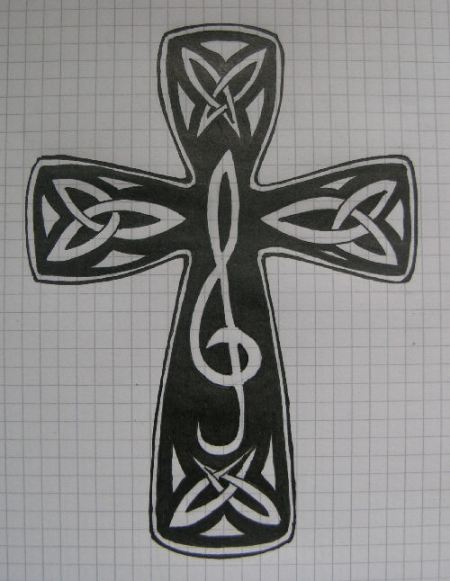 Cross Tattoos Gallery